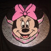 Minnie All buttercream
