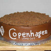 "Copenhagen Chocolate cake with Chocolate BC icing...the ""chew"" is crumbled up chocolate cake! TFL..."