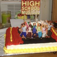 High School Musical #2 I made this one too for the same birthday, cause it was for a lot of people, so I decided to make 2 different cakes
