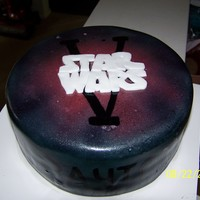 Star Wars   Fondant with airbrush