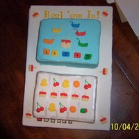 Reel Em In This was all buttercream piped onto fondant. Thanks for looking