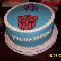 Transformers The characters were done with frozen buttercream transfer. Thanks for looking.