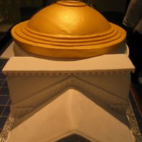 Pantheon Graduation Cake