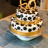 50Th Birthday Cake I made this cake for my best friend's 50th birthday.