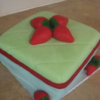 Jen's Strawberry Summer Cake