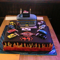 49Th Oldies/harley Cake/classic Cars I made this for my brothers 49th b-day. Everyone loved this cake. He loves oldies and Harley Davidson so I had to find a middle ground for...