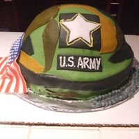 Pvt2 Tubbs Son's going away party, found design on-line...He's officially in the Army now! We are so proud of you