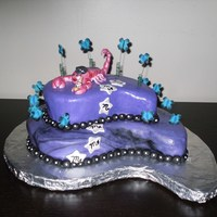 Scorpio Cake all decoations are MMF