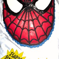 Spiderman Cake All MMF