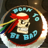 Born To Be Bad Cake
