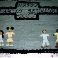 Family Reunion Pic 2 the 2nd family reunion cake.