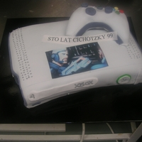 Xbox 360 Cake XBOX 360 CAKE FOR A POLISH MAN