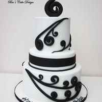 Maori Birthday Cake. This is a koru inspired design for the 50th birthday of a Maori New Zealand lady. Client emailed me this picture - http://www.flickr.com/...