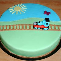 Thomas The Tank Engine This cake was for a Thomas the Tank Engine party that a dear friend of mine was hosting at her place of work. (A child minding facility at...