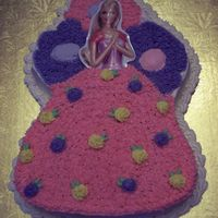 Barbie Cake From Wilton Pan