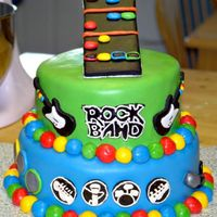 Rock Band Cake This was for a 16 year old boy's birthday. Mom requested a rock band cake. I had two days notice. Haven't seen anything like this...