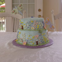 Birthday Cake - Flower Garden
