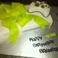 X-Box Birthday Cake Client requested and X-Box for her sons birthday, I had never seen an X-Box before, had to look up pictures on the internet. This is what I...