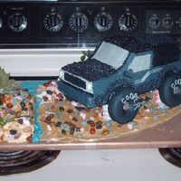 1986 Bronco Ii This cake I made my fiance for his 26th birthday. I really wanted to make it special for him. Custom carved, no special pans. Everything...