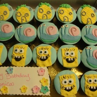 Sponge Bob Cupcakes Cupcakes I made for a birthday