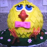 Easter Chick Ball Cake Thanks to cc for the inspiration! I wish I could remember the username who's picture I used, but a special thanks to you! I made two...