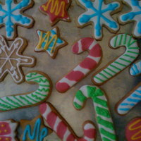 First Decorated Cutout Cookies