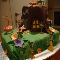 Tink And Friends Cake