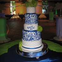 Wedding Blue/white