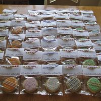 Easter Egg Cookies I made these cookies to sell (with fake money) at my daughter's school marketplace. Her booth came in first place for selling the most...
