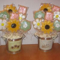 Mother's Day Cookie Bouquets I had a total of 11 orders for this bouquet for Mother's Day. Boy was I happy when they were done. Not sure if you can see it in the...