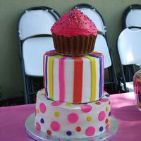 Brooke's Birthday Cake My Daughters 1st Birthday Cake
