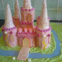 Fairy Castle Cake This was my first attempt at a novelty cake for my daughters 8th birthday. It is made with Madeira cakes, butter icing, royal icing, and...