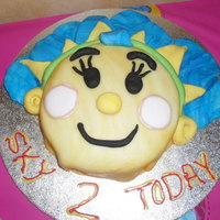 Fifi Cake This was a last minute job, so was a little rushed, but my little girl still loved it.