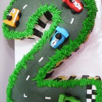 Racetrack 2 was asked to replicate a cakejournal cake that someone had found on flickr.. hope i did the design justice.. thank you cakejournal!!