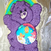 Care Bears   Buttercake covered in buttercream icingMade by Jess