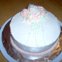 Final Cake Course 1 Roses kicked my tail. So I decided to do roses for the final cake, nothing like practice! Thanks for looking :)