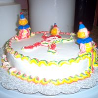Clown   My second cake in class