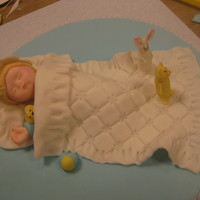 Fondant And Gumpaste Baby Cake Topper