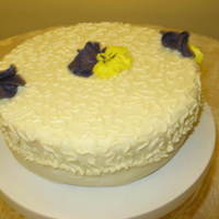 Pansy Birthday Cake