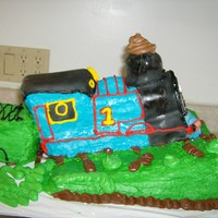 Thomas The Tank Engine My nephew's 3rd birthday cake, he just loves Thomas.