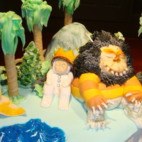 "Where The Wild Things Are Class 4 Final Cake Challenge - Make a cake based on your favorite book. So I decided on the classic ""Where the Wild Things Are""...."