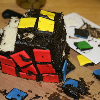 Rubics Cube fell of the table