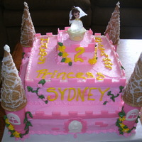 Princess Celebration pink princess castle