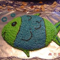 Cake.jpg Fish cake for my grandson's 1st birthday!