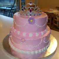 Princess Cake 1st Birthday Princess Cake