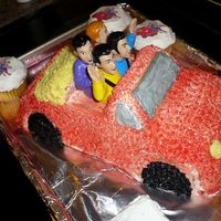 Wiggles Car  I'm posting all the pics of cakes I've made so I can see my progression. I just registered for my first class. Feel free to...