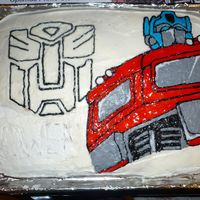 Optimus Prime  This was the cake that made me decide to take a course. Got the idea from a picture on the internet recently learned it was on here!! For...
