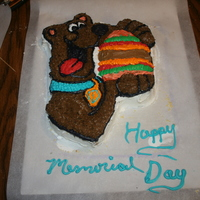 My 3Rd Cake The Scooby Doo Cake My First Attempt at a Charactor cake