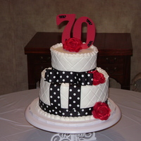 70Th Birthday Cake For Mom
