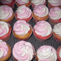 Pink And White Cuppies
